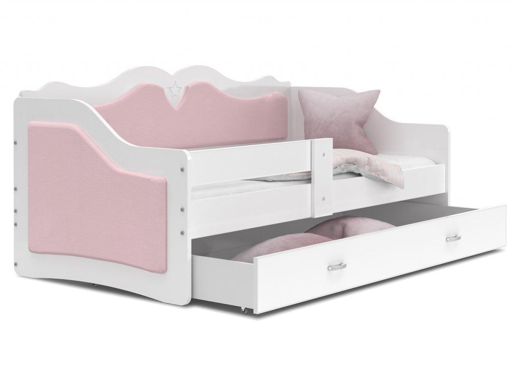Detská posteľ Lalila Púdrová