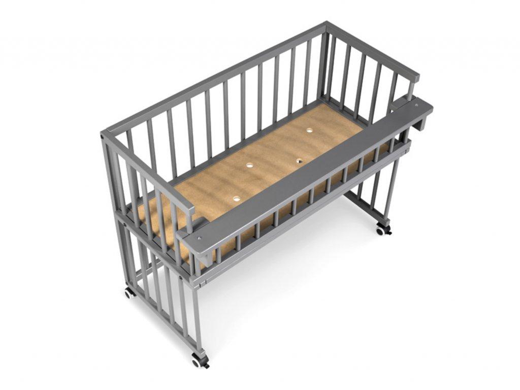 Postieľka k posteli piccolo due borovica