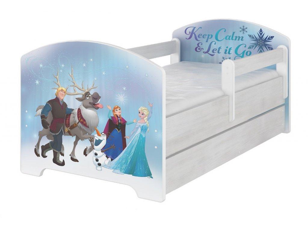 Detské postele Frozen Disney 160x80