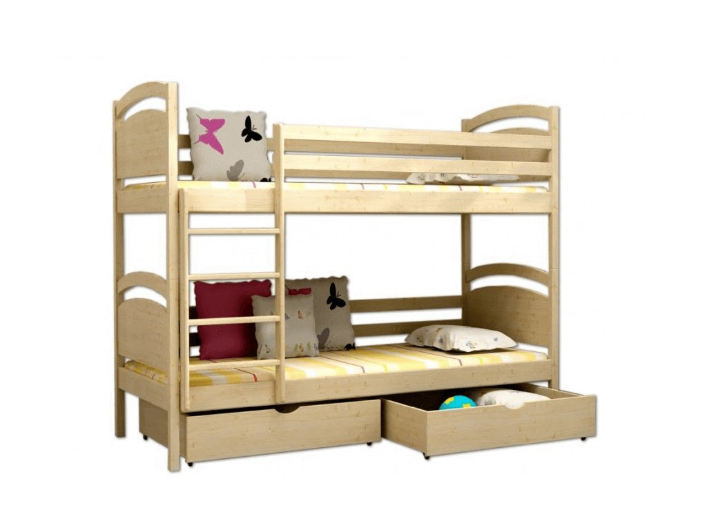 Poschodová posteľ Paula 6 180x80