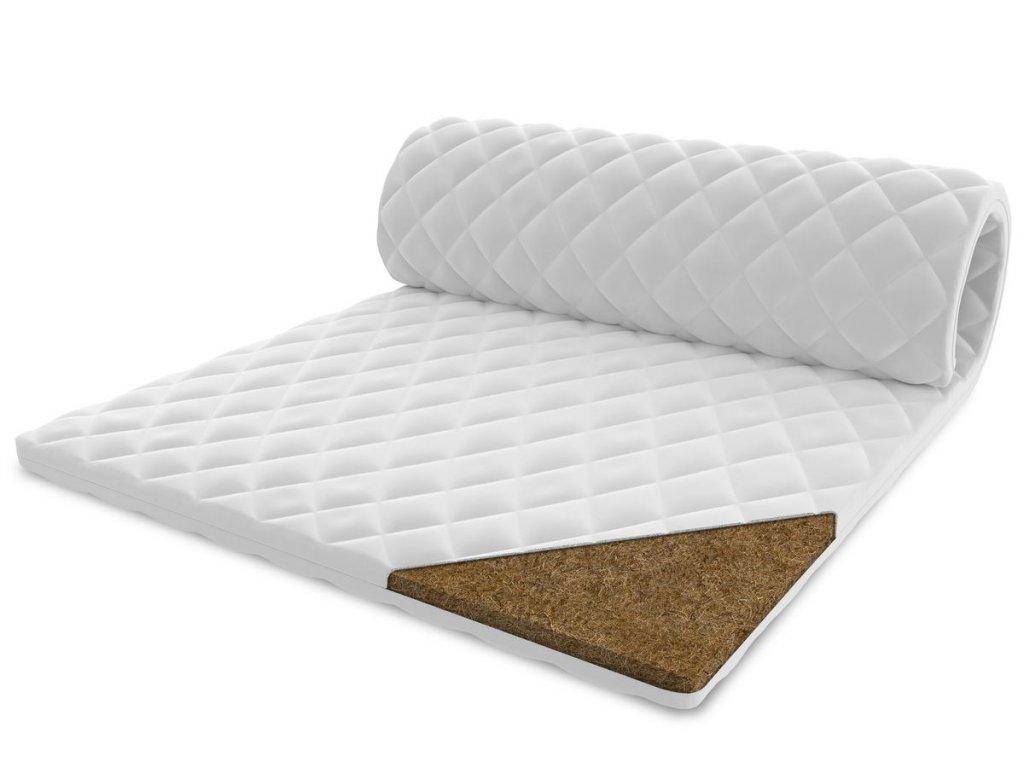 Vrchný matrac s kokosom 200x140 - 1 cm