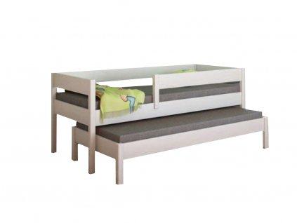 Junior 160x80 detská posteľ s prístelkou - rôzne farby