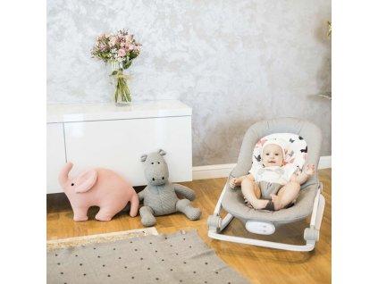 Pletená hračka pre deti Slon