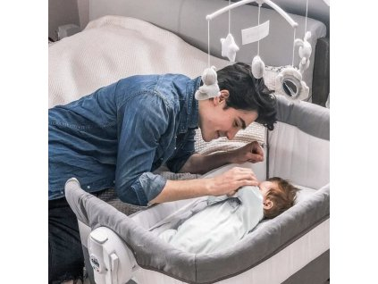 Detská postieľka k posteli CAM