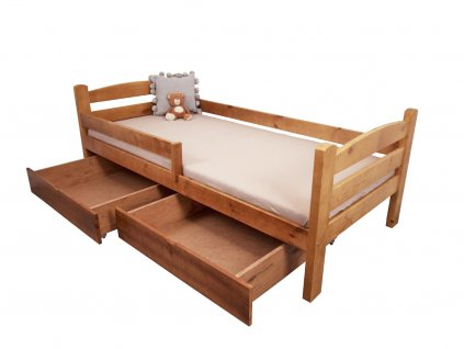 Detská posteľ Oľga 5 (200x90 cm) s úložnými priestormi