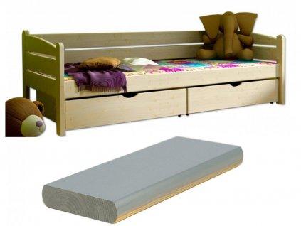 Detská posteľ Oľga 10 (200x90 cm) s úložnými priestormi - viac farieb
