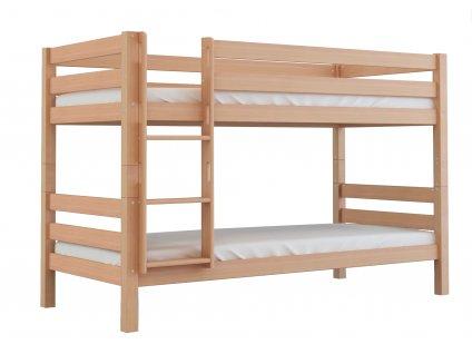 Poschodová posteľ Oliver 200X90 - buk