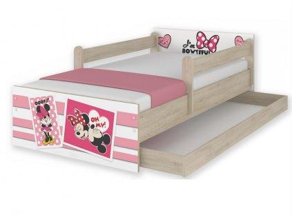 Posteľ pre deti Minnie ups 160x80 max