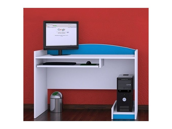 Písací stôl Happy Modrý B07