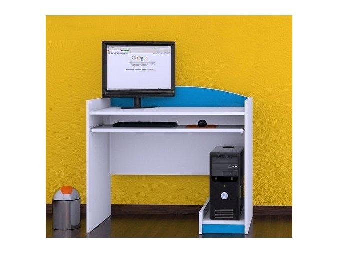 Písací stôl Happy Modrý B12