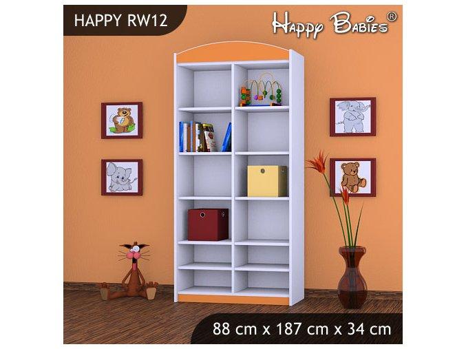 Regál Happy Orange RW12