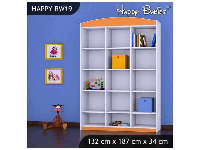 Regál Happy Orange RW19