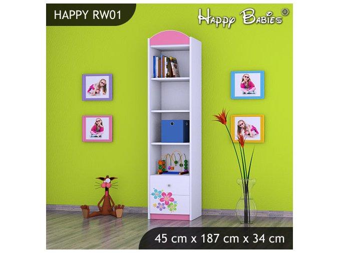 Regál Happy Pink RW01