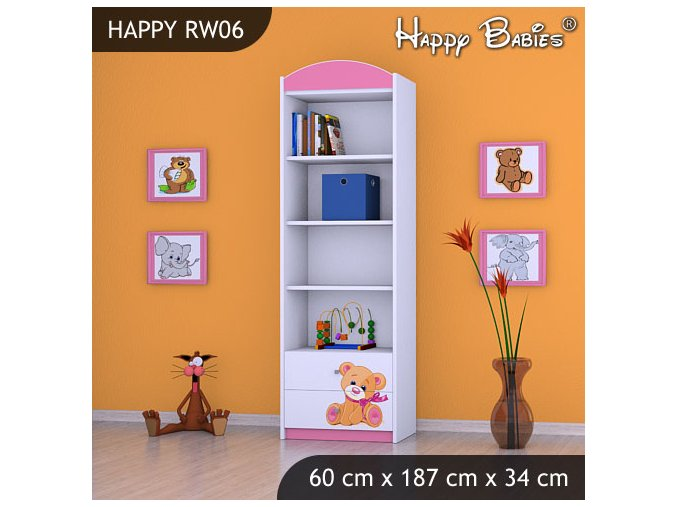 Regál Happy Pink RW06