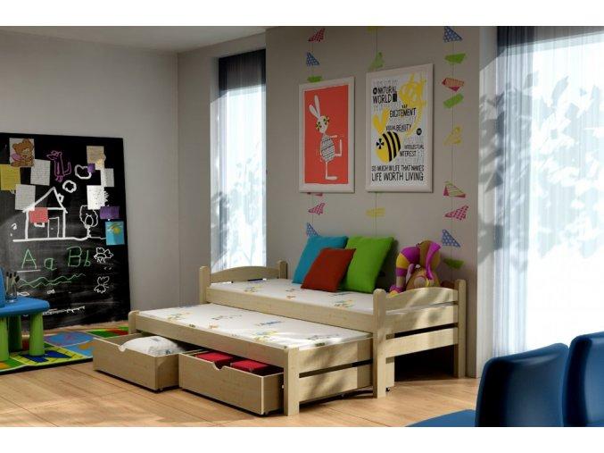 Veronika 10 180x80 posteľ s prístelkou
