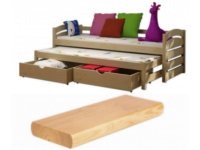 Veronika 12 200x90 posteľ s prístelkou