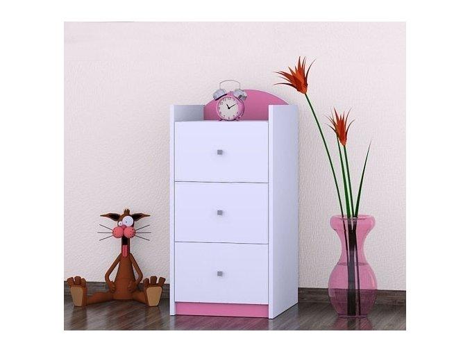 636 komoda happy pink k01