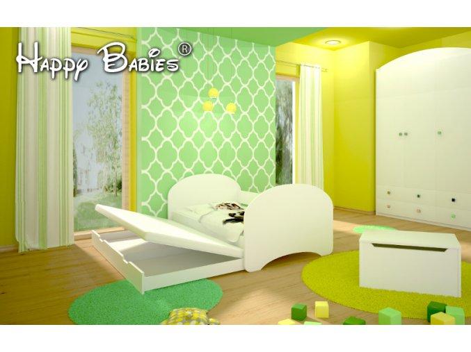 Happy P2 180x90 - rozkladacia detská posteľ - 89 motívov