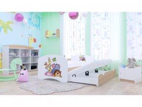 Rozkladacia posteľ Happy P2 200x90 hruška