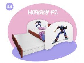 Happy P2 calvados detská posteľ 200x90
