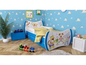 Detská posteľ DREAM modrá 160x80