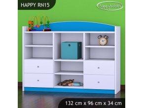 Regál Happy Modrý RN15 - výpredaj