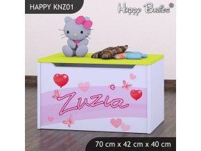 Truhlica Happy Lemon KNZ01