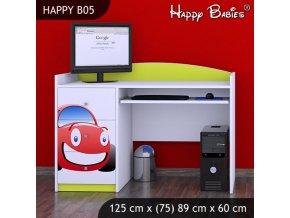 Písací stôl Happy Lemon B05