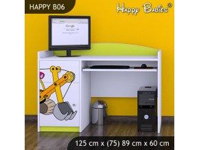 Písací stôl Happy Lemon B06