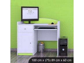 Písací stôl Happy Lemon B09