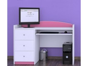 Písací stôl Happy Pink B05