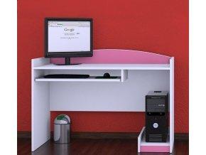Písací stôl Happy Pink B07