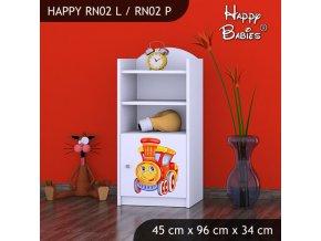 Regál Happy Biely RN02