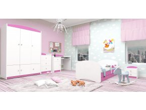 Produkt Detská izba Happy - ružová (160x80)