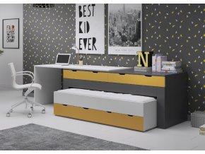 Multifunkčná detská posteľ Smart