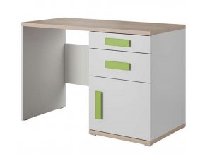 Písací stôl IRIS biely