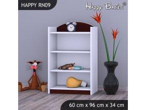 Regál Happy Gaštan RW09
