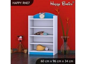 Regál Happy Modrý RN07