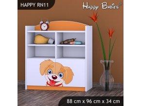 Regál Happy Orange RN11