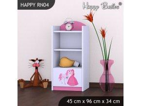 Regál Happy Pink RN04