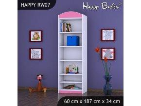 Regál Happy Pink RW07