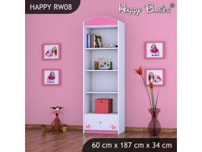 Regál Happy Pink RW08