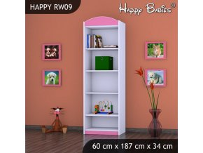 Regál Happy Pink RW09