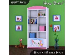 Regál Happy Pink RW11