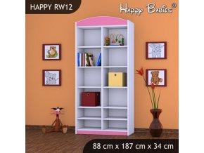 Regál Happy Pink RW12