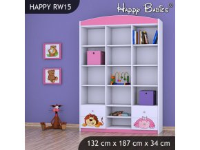 Regál Happy Pink RW15