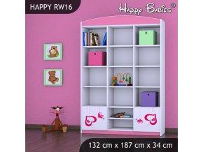 Regál Happy Pink RW16