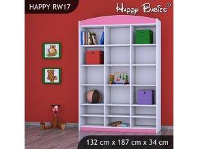 Regál Happy Pink RW17