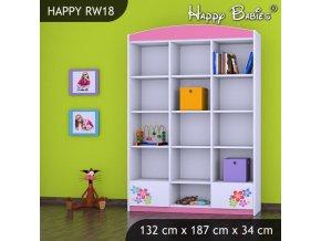 Regál Happy Pink RW18