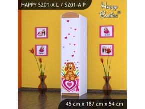 Skriňa Happy Buk SZ01-A